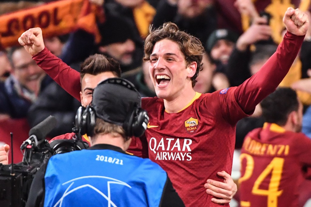 Zaniolo starred for Roma against Porto last time out (Photo by ANDREAS SOLARO/AFP/Getty Images)