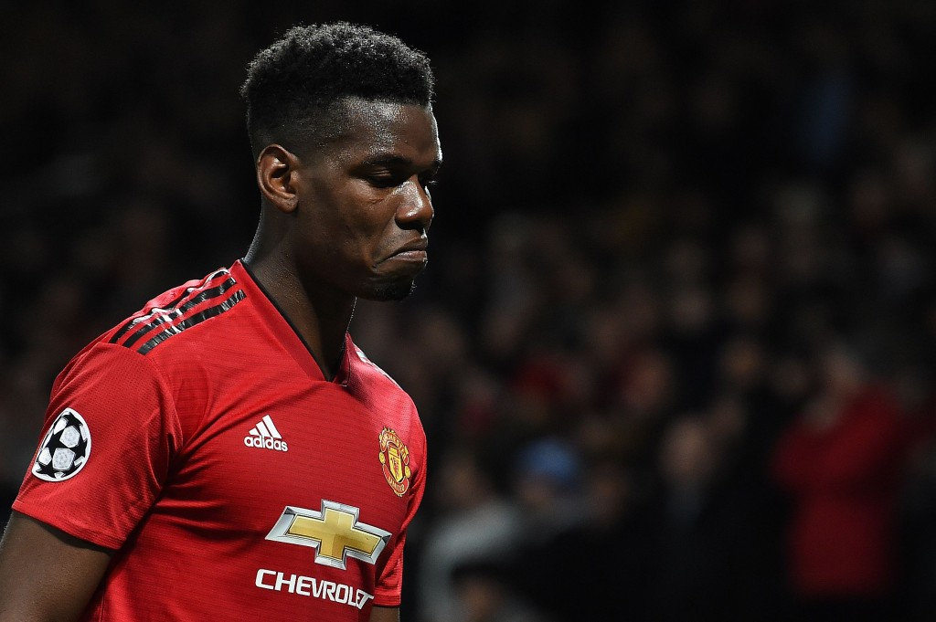 Set to continue in the red of Manchester United? (Photo by Paul Ellis/AFP/Getty Images)