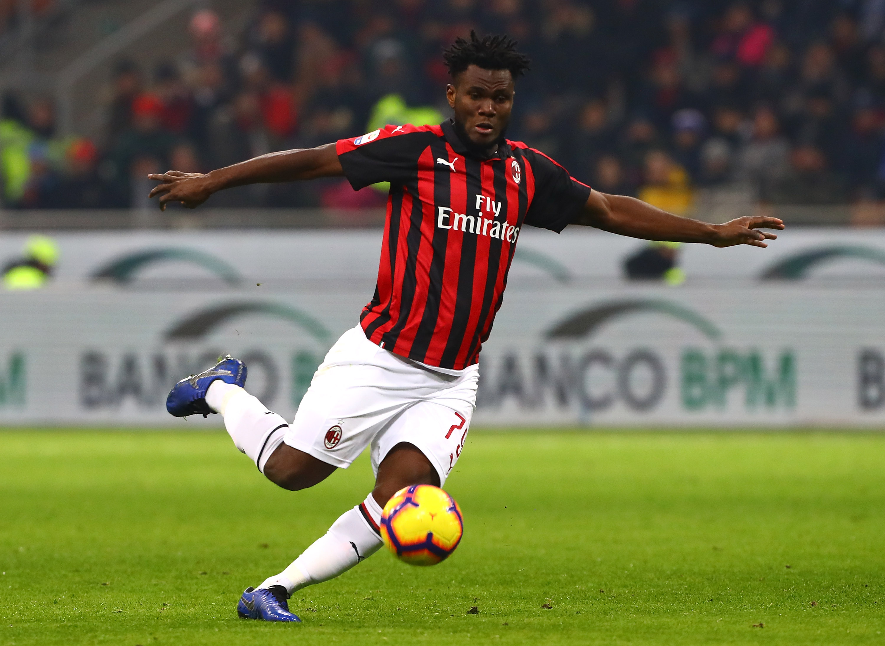 Franck Kessie is strongly considered as a replacement for Aaron Ramsey at Arsenal in the summer. (Photo courtesy: AFP/Getty)