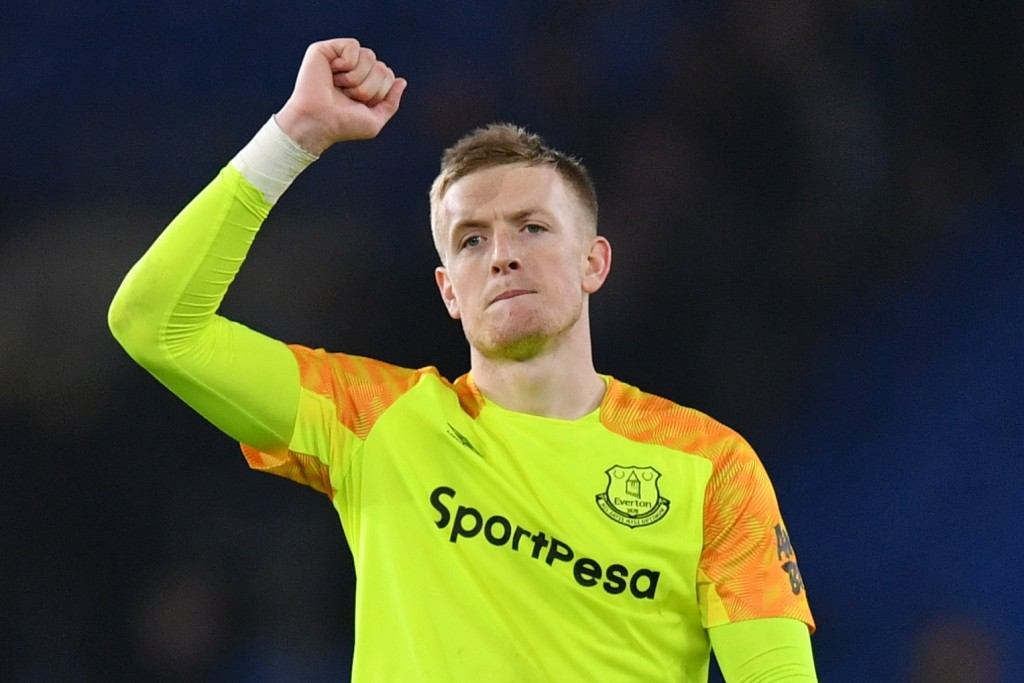Jordan Pickford will hope to avoid a repeat of his inexplicable howler in the reverse fixture. (Photo by Dan Mullan/Getty Images)