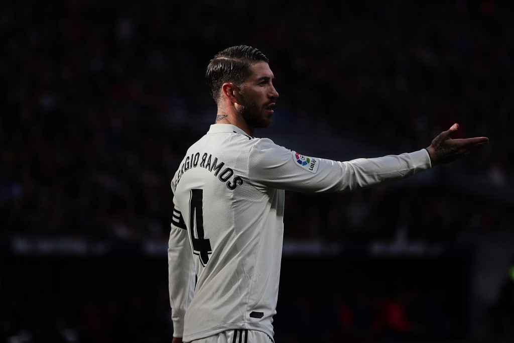 Sergio Ramos misses out for Real Madrid due to a knock. (Photo by Gonzalo Arroyo Moreno/Getty Images)