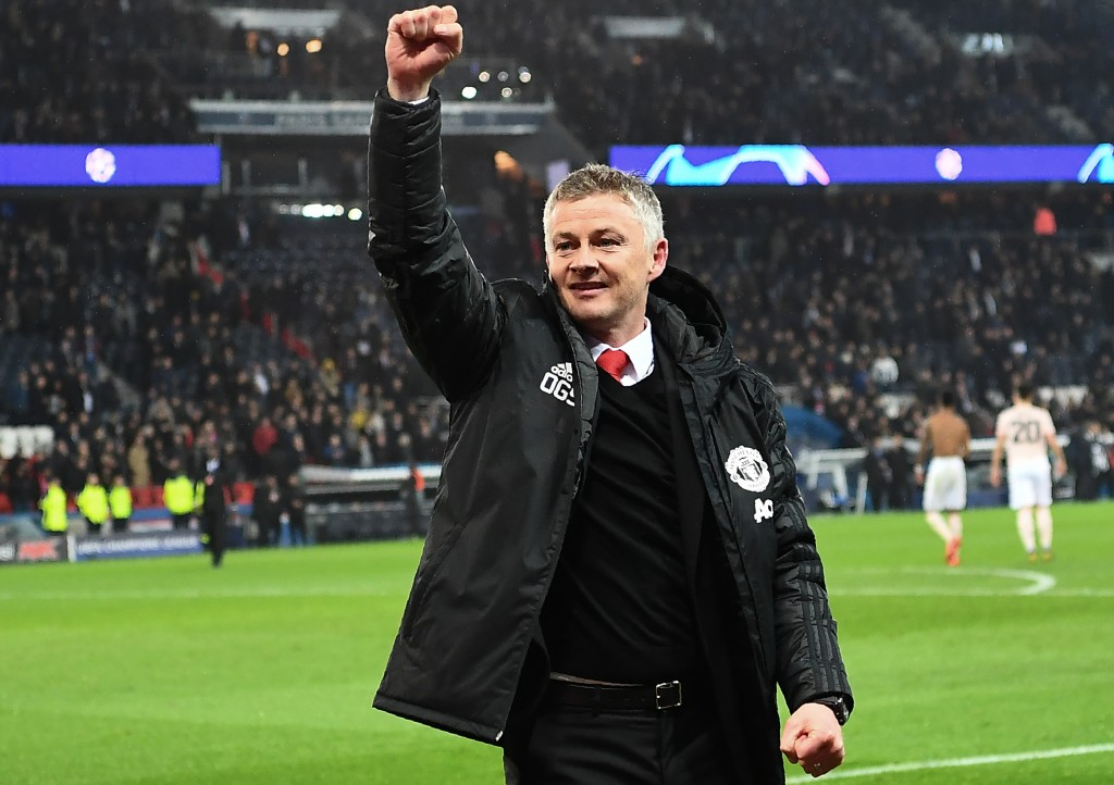 Solskjaer has made a triumphant return to Old Trafford and is now set to become permanent Manchester United manager. (Photo by Anne-Christine Poujoulat/AFP/Getty Images)