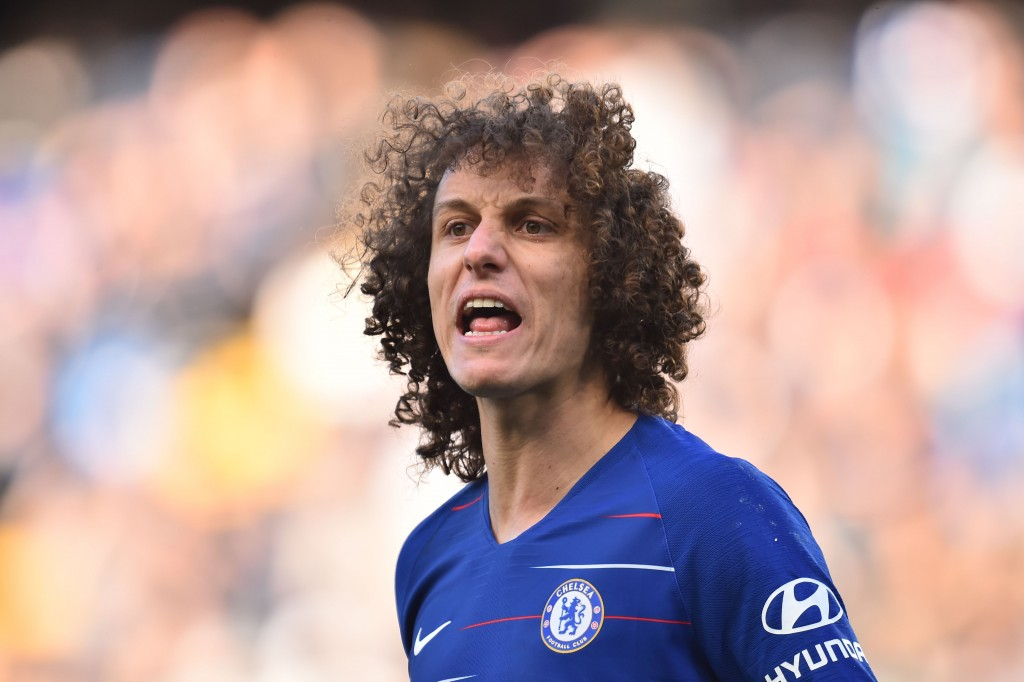 Luiz was too casual for the Wolves goal. (Photo by Glyn Kirk/AFP/Getty Images)