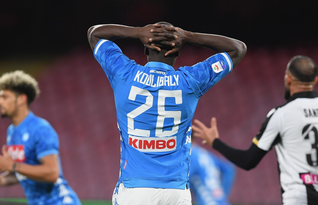 Kalidou Koulibaly is one of five Napoli players that will miss out against Juventus. (Photo by Francesco Pecoraro/Getty Images)