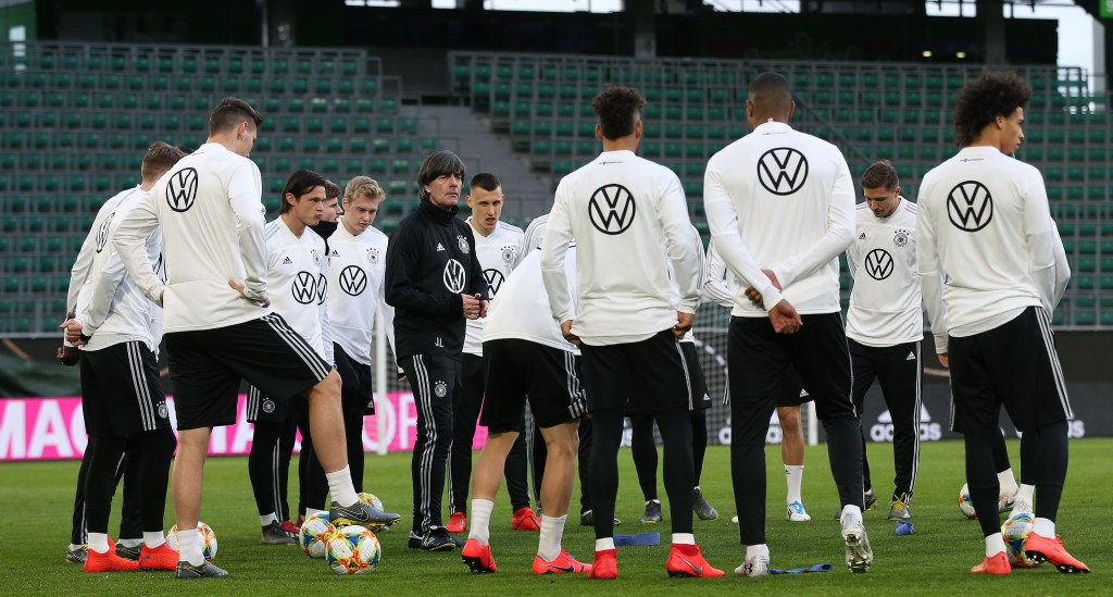 Can Joachim Low inspire his new look squad to success? (Photo by Ronny Hartmann/Bongarts/Getty Images)