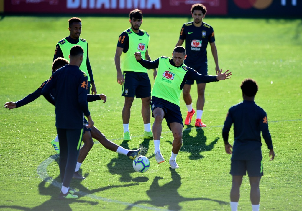 Will Tite's men continue their post-World Cup run? (Photo by Miguel Riopa/AFP/Getty Images)