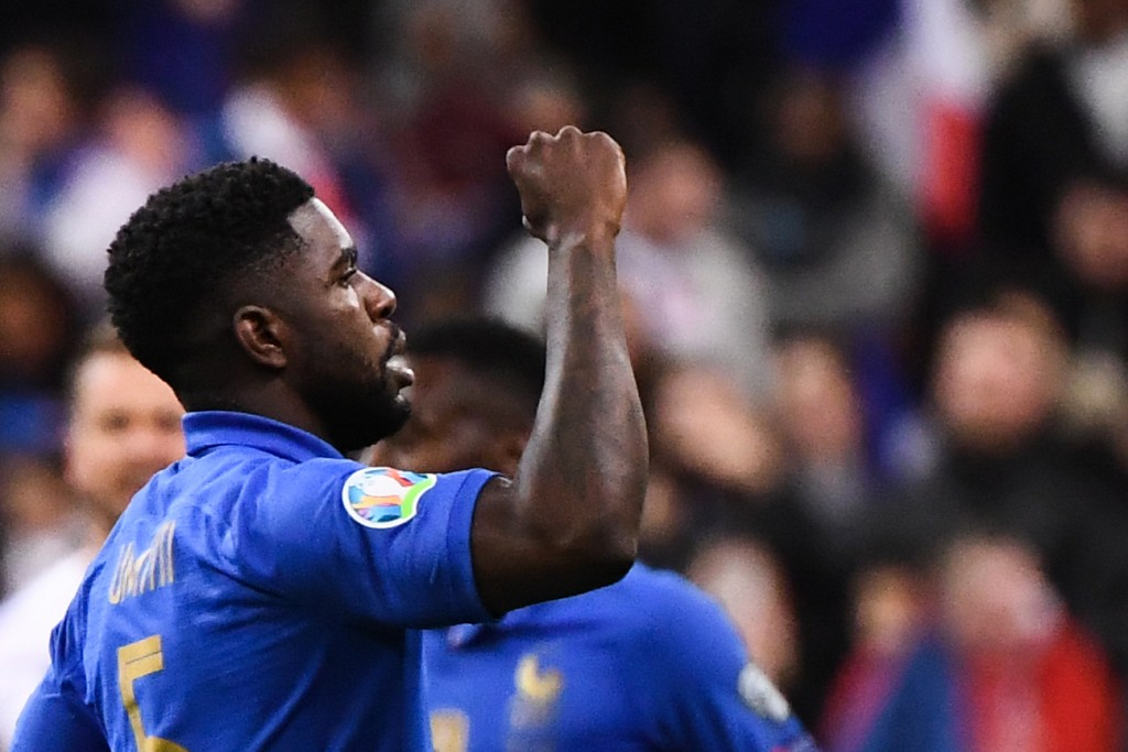 Will Umtiti seal a grand homecoming to Lyon this summer?? (Photo Franck Fife/AFP/Getty Images)