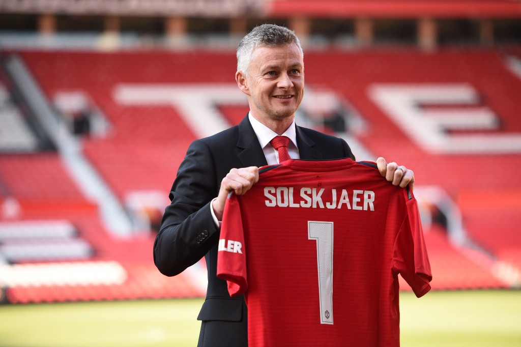 Ole's at the Wheel! (Picture Courtesy - AFP/Getty Images)