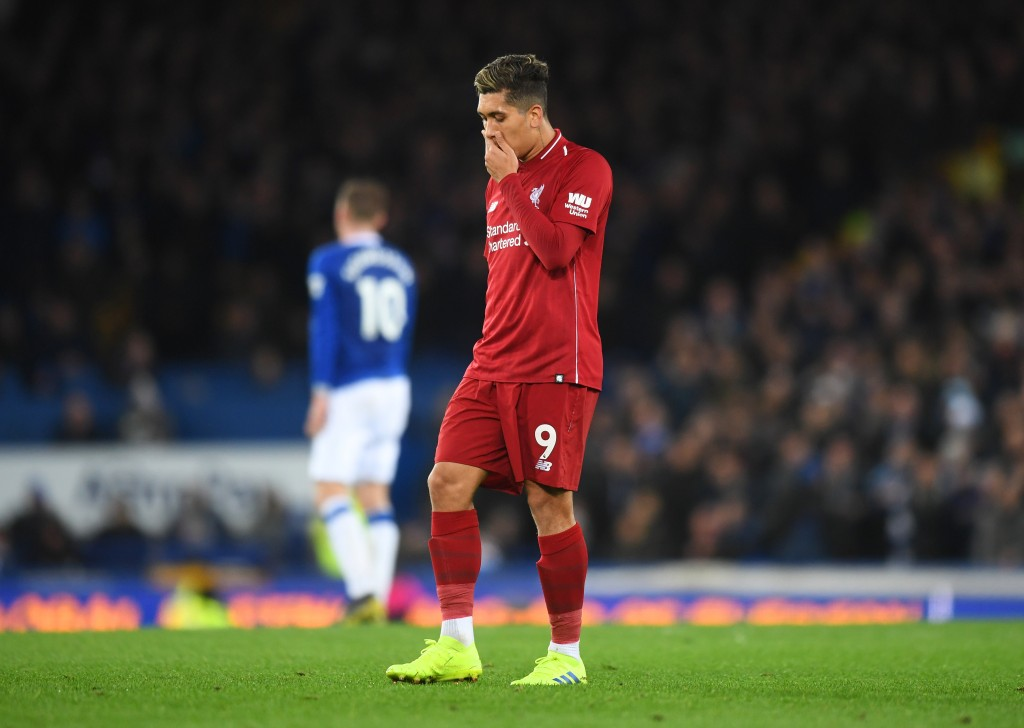 Firmino failed to inspire Liverpool to a win. (Photo by Michael Regan/Getty Images)