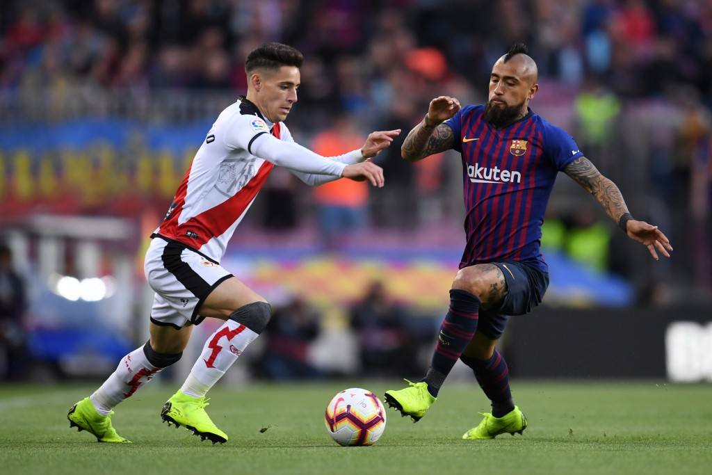Vidal was solid and combative in midfield (Photo by David Ramos/Getty Images)