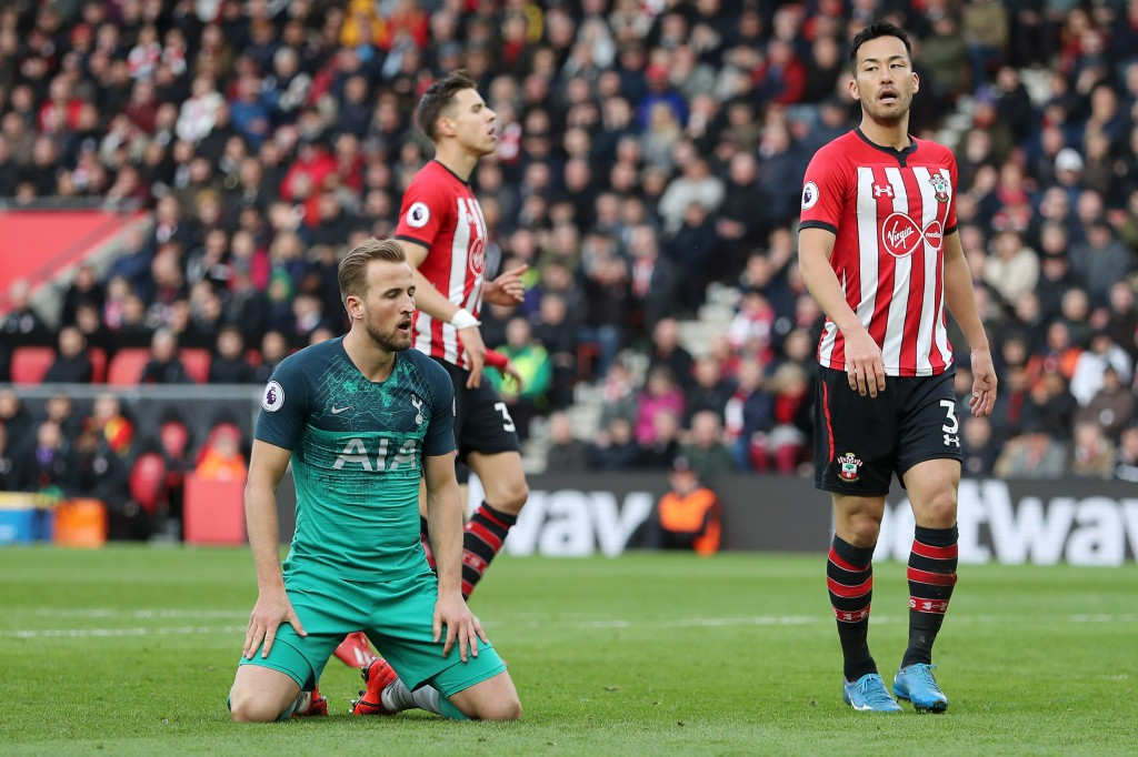 Tottenham have seen their advantage in third spot go away after a series of losses. (Photo by Christopher Lee/Getty Images)