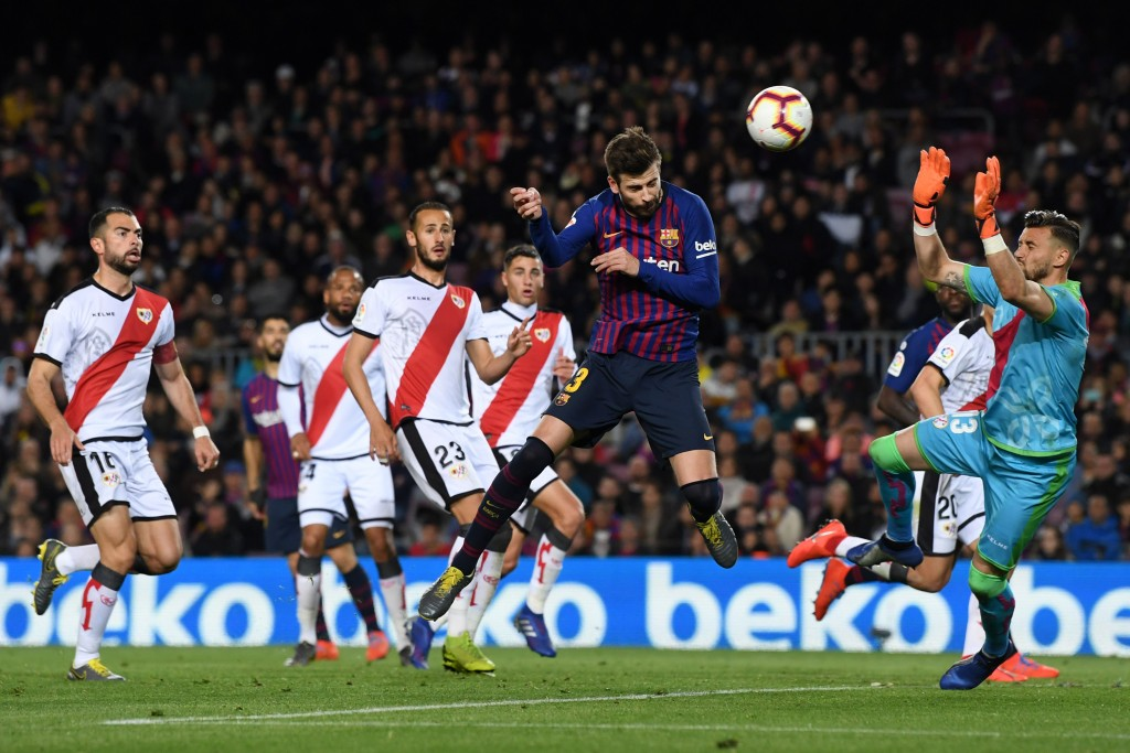 Pique scored the equalizer for Barcelona (Photo by David Ramos/Getty Images)