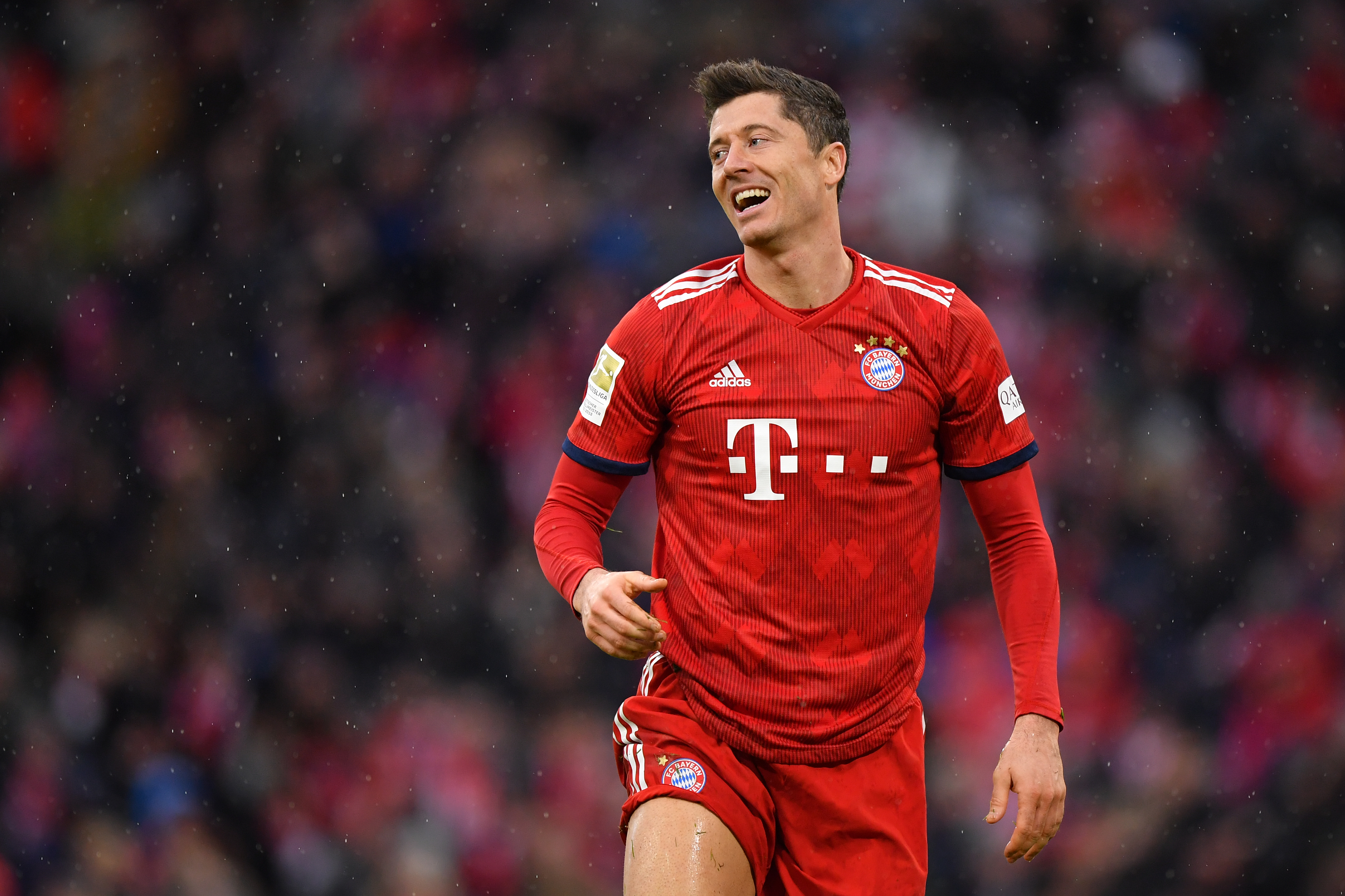 The Polish marksman will look to be the difference maker for Bayern (Photo by Sebastian Widmann/Bongarts/Getty Images)