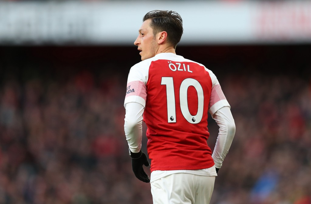 Mesut Ozil has seen a revival of form lately. (Photo by Catherine Ivill/Getty Images)
