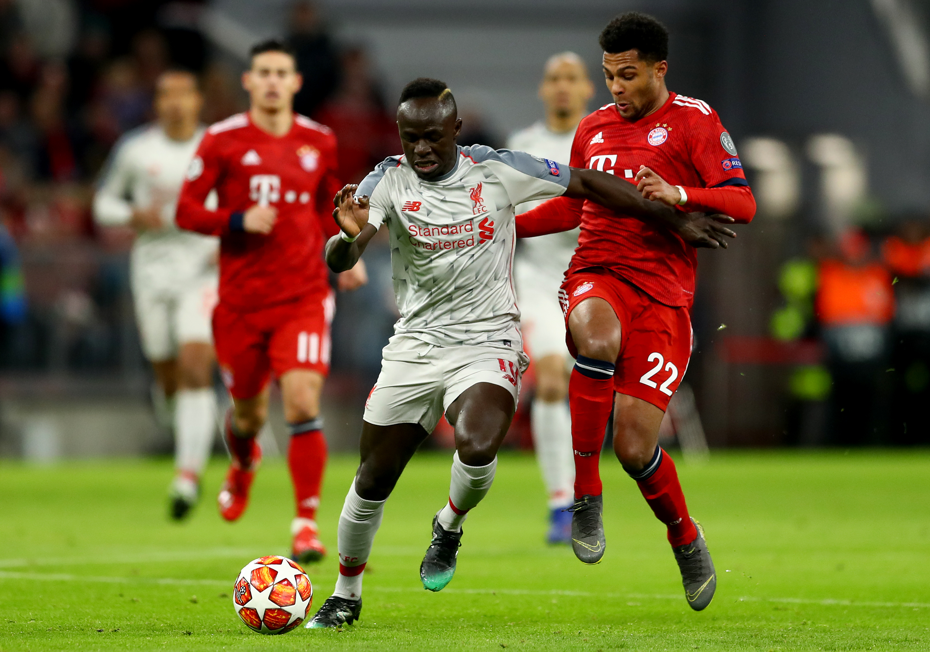 Real Mardid were impressed by Mane's performance against Bayern Munich in the Champions League. (Photo courtesy: AFP/Getty)