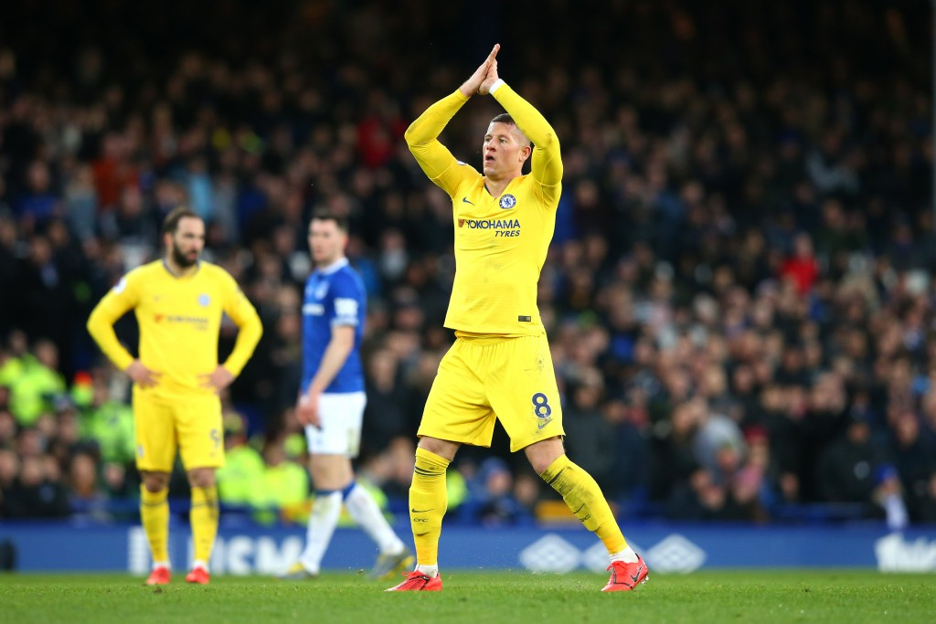 Barkley's return to Goodison Park was pretty uneventful (Photo by Alex Livesey/Getty Images)