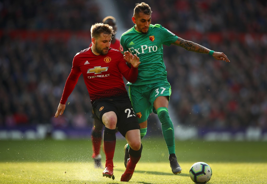 Shaw stars for Manchester United (Photo by Clive Brunskill/Getty Images)