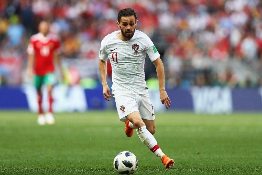 Could Bernardo Silva be on his way to Barcelona soon? (Photo by Dean Mouhtaropoulos/Getty Images)