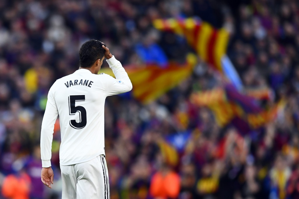 Will Varane show his back to Real Madrid? (Photo by Gabriel Bouys/AFP/Getty Images)