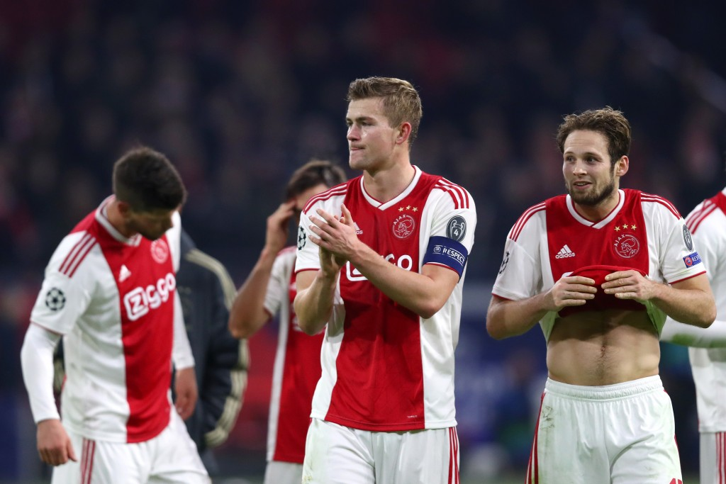 Will de Ligt lead by example once again? (Photo by Dean Mouhtaropoulos/Getty Images)
