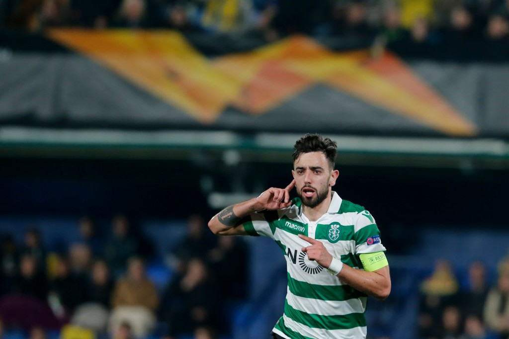 Bruno Fernandes and his form is causing quite a buzz. (Picture Courtesy - AFP/Getty Images)
