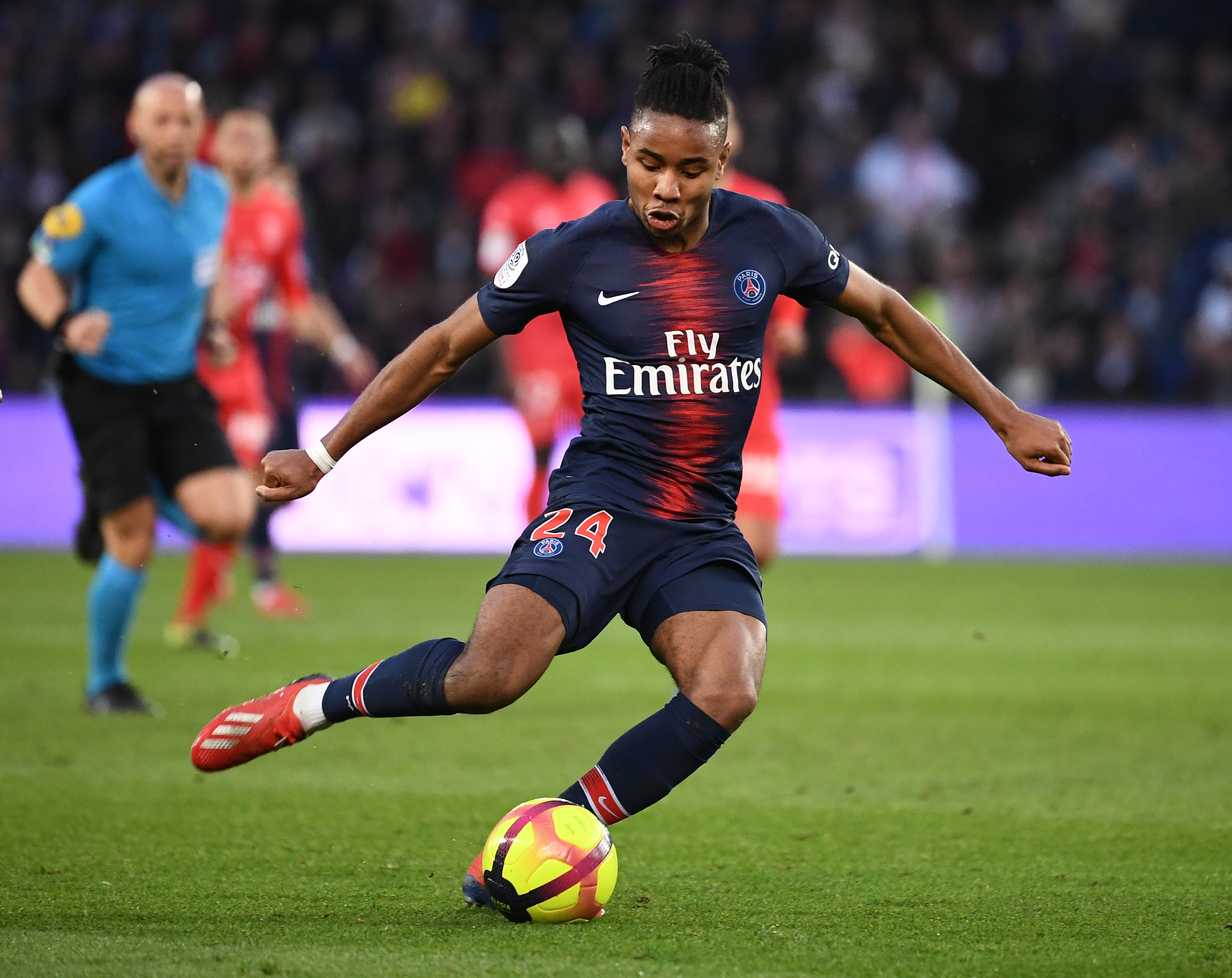 Arsenal linked Christopher Nkunku may not sign a new PSG deal. (Photo courtesy: AFP/Getty)