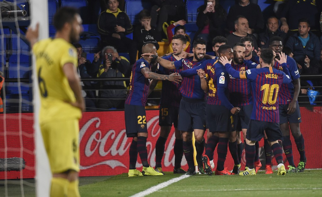 Barcelona will be hoping to regroup after stuttering against Villarreal. (Photo by Jose Jordan/AFP/Getty Images)