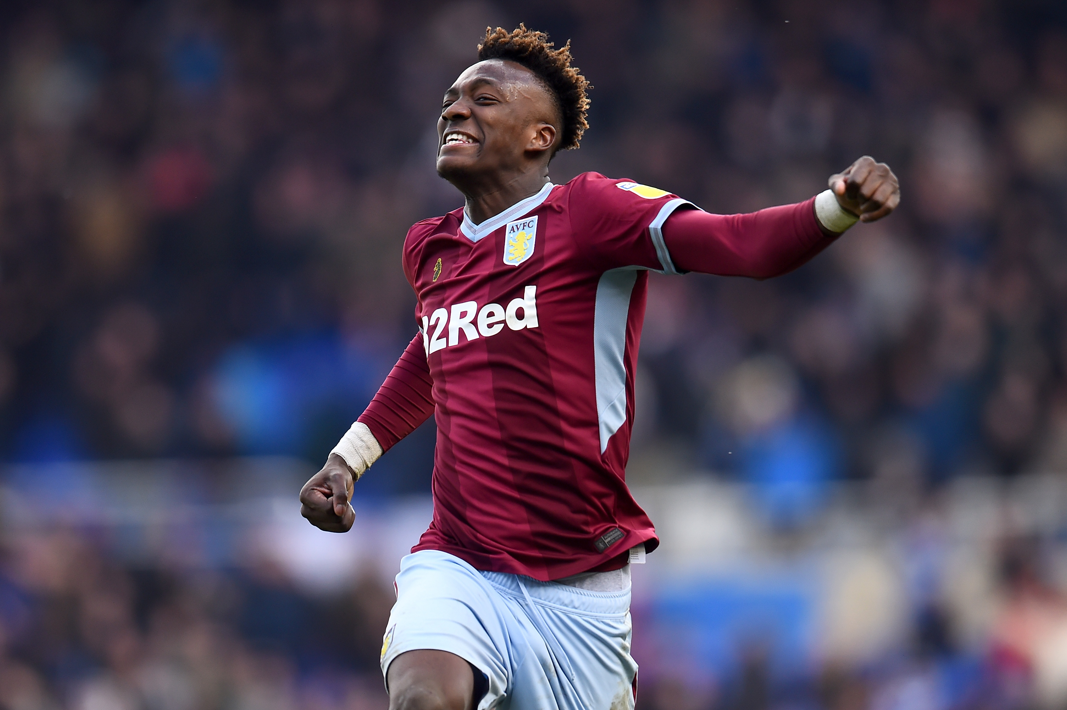 Abraham on his way back to Aston Villa? (Photo by Nathan Stirk/Getty Images)