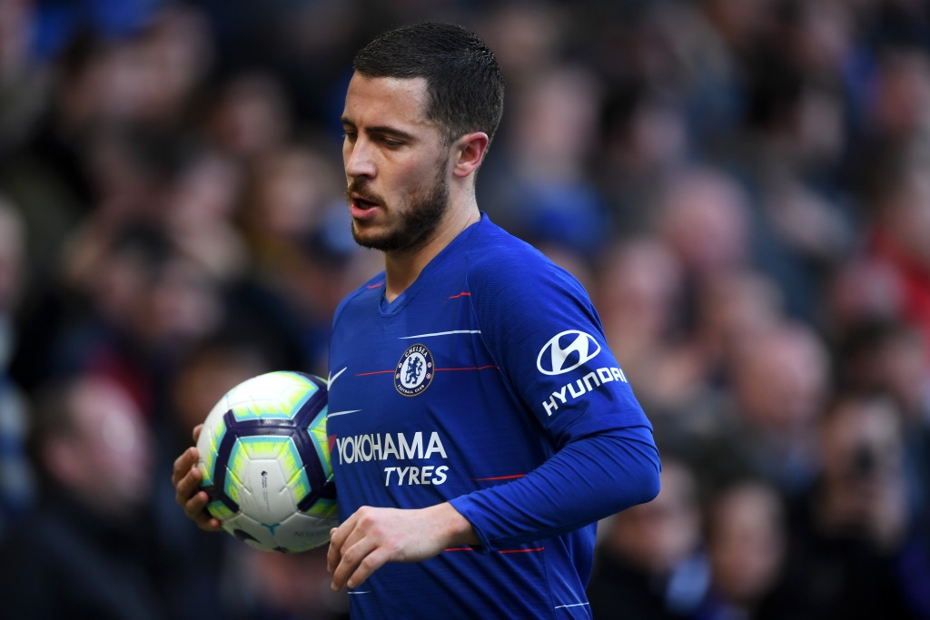 The ball is in Hazard's court. (Photo by Laurence Griffiths/Getty Images)