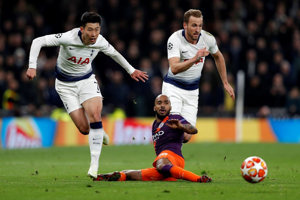No Kane and Son for Spurs (Photo by ADRIAN DENNIS/AFP/Getty Images)