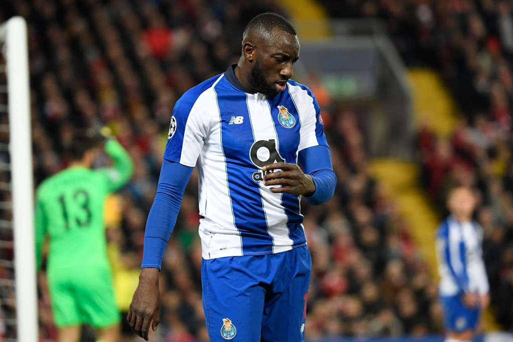 Marega needs to be more clinical if Porto are to stand a chance (Photo by LLUIS GENE/AFP/Getty Images)