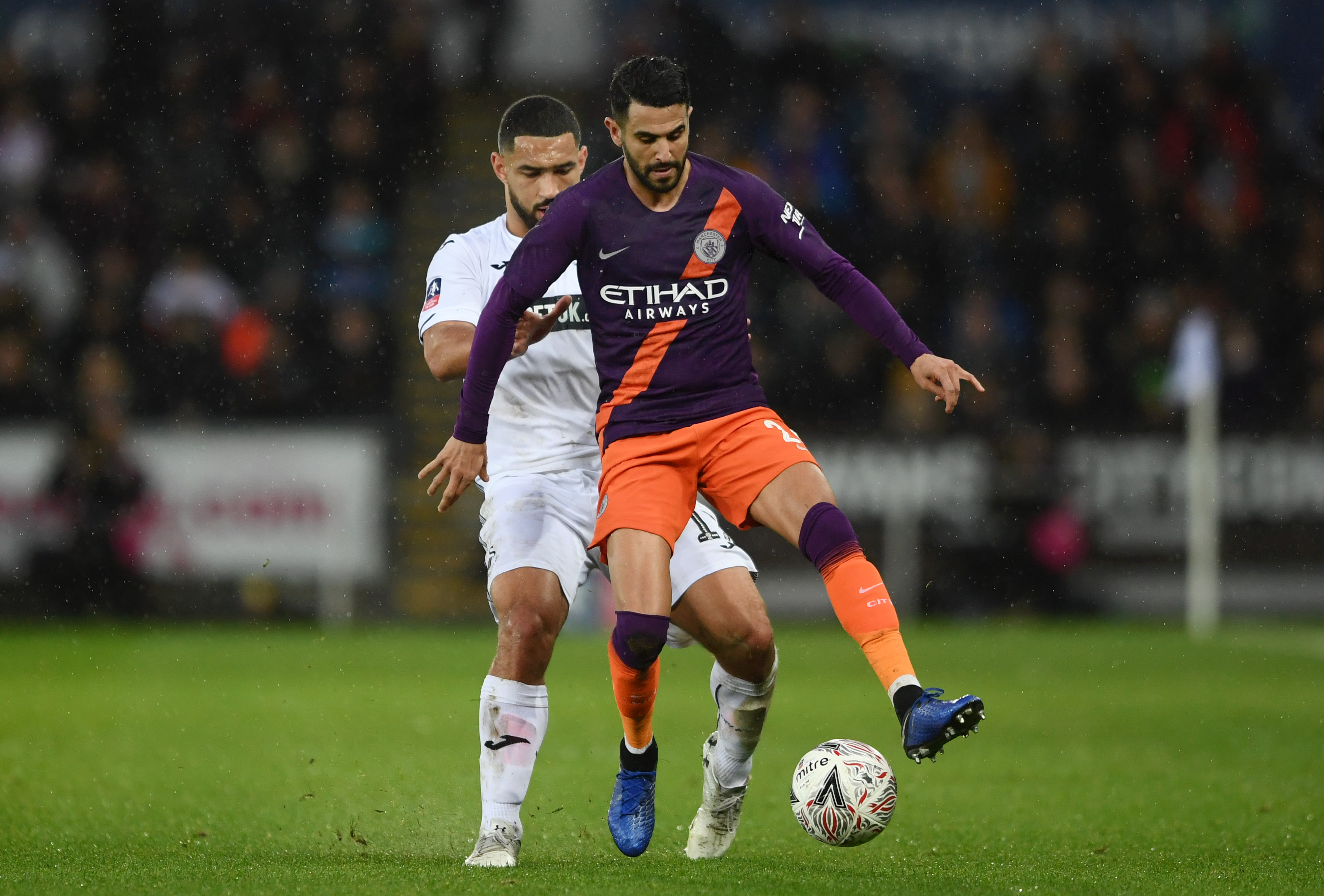 A chance for Mahrez to shine? (Photo courtesy: AFP/Getty)