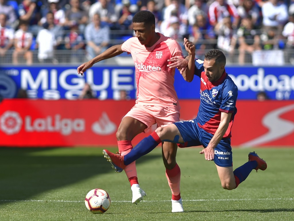 Could Todibo be on his way out of Barcelona already? (Photo by ANDER GILLENEA/AFP/Getty Images)