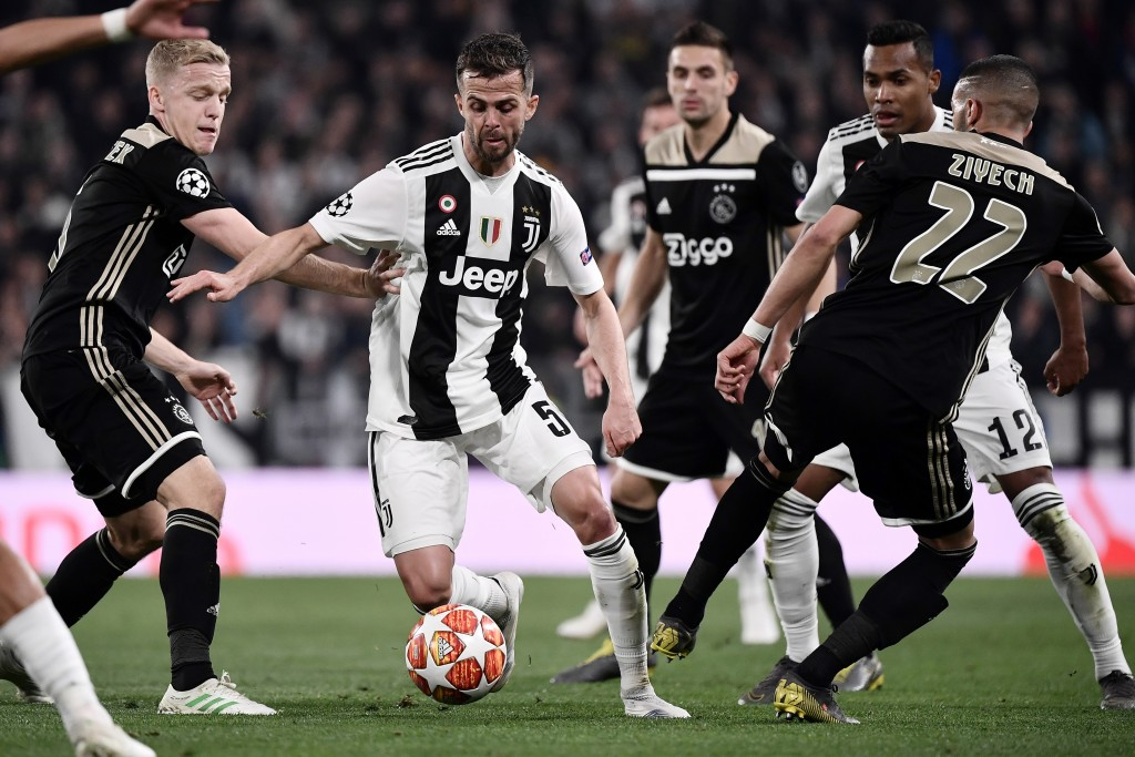 Pjanic impressed for Juventus (Photo by MARCO BERTORELLO/AFP/Getty Images)