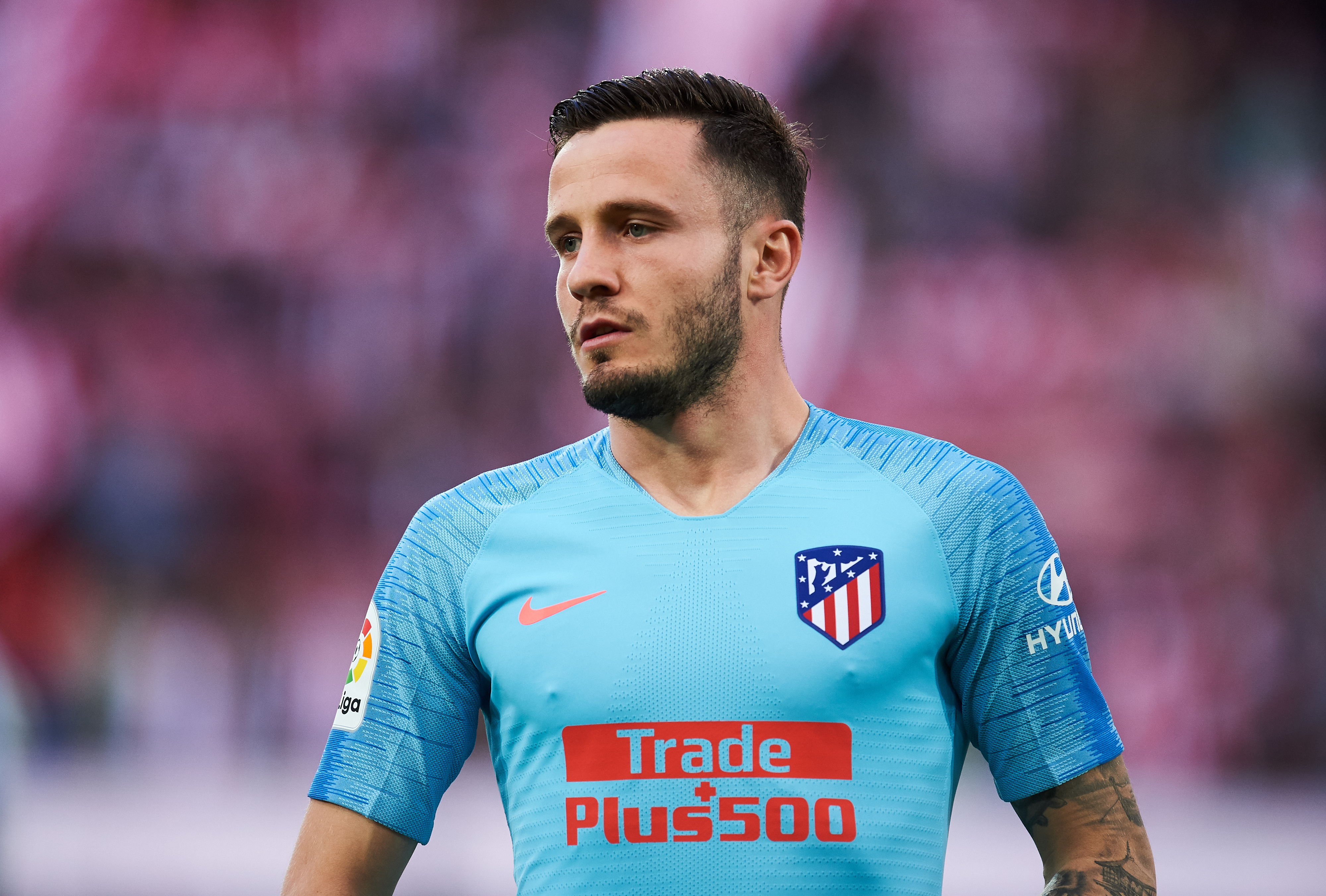 Saul could be on his way out of Atletico Madrid (Photo by Juan Manuel Serrano Arce/Getty Images)
