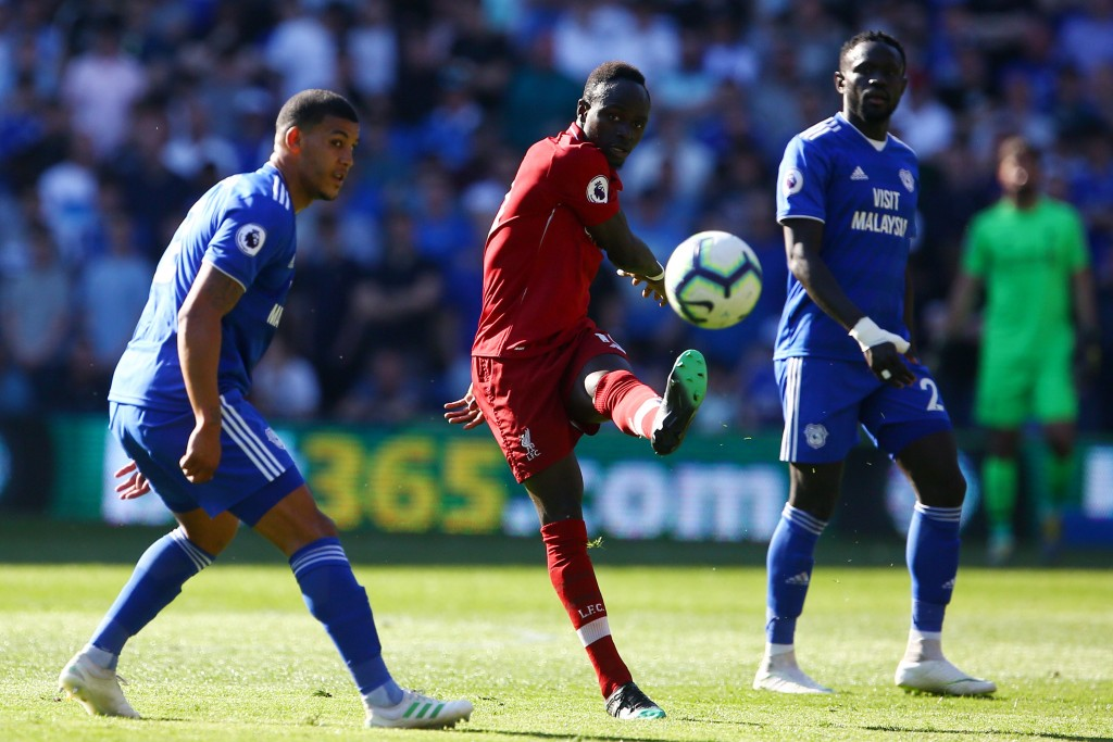 Mane was a constant menace (Photo by GEOFF CADDICK/AFP/Getty Images)