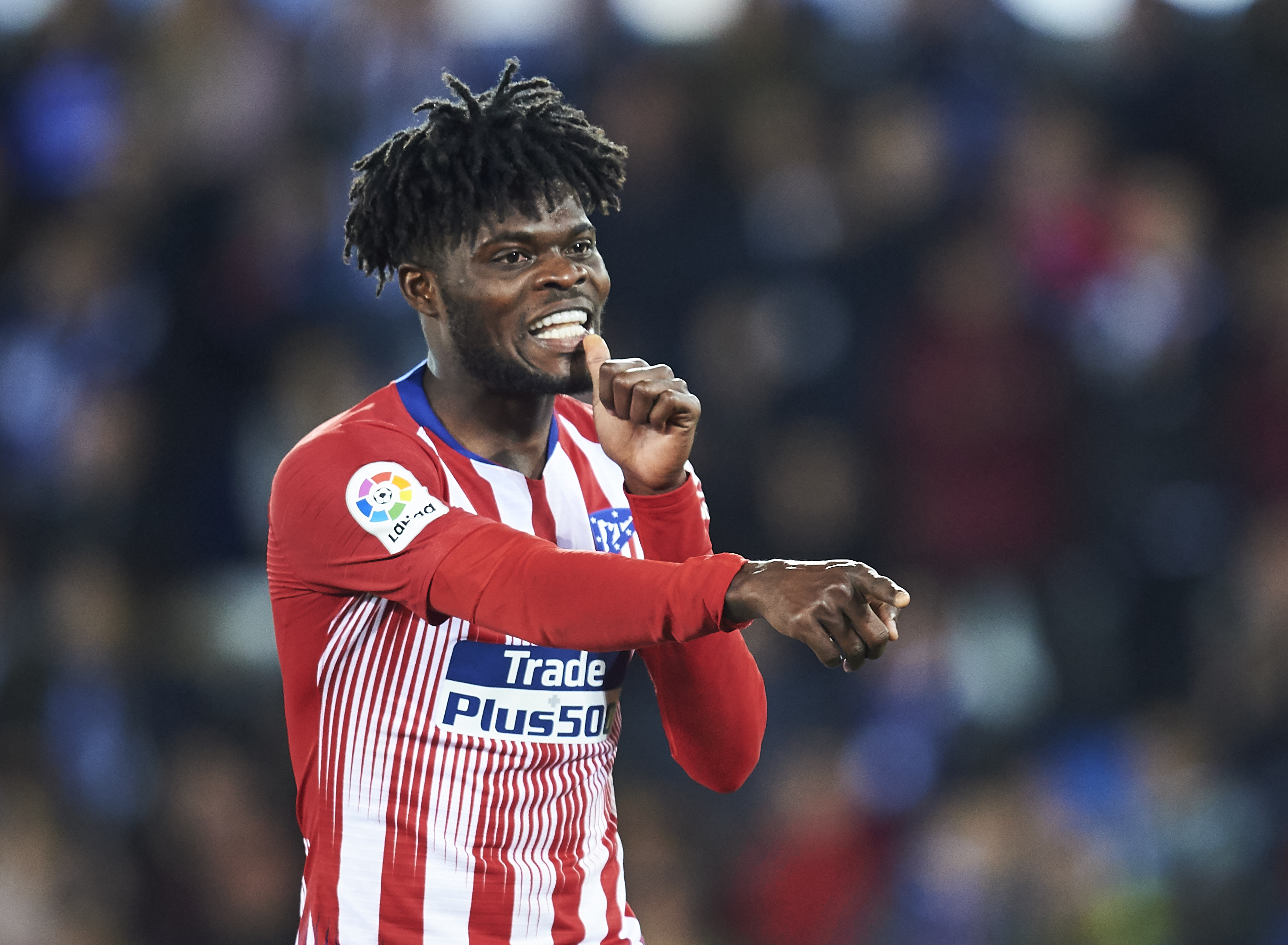 A man in demand! Thomas Partey is wanted by manny clubs.
