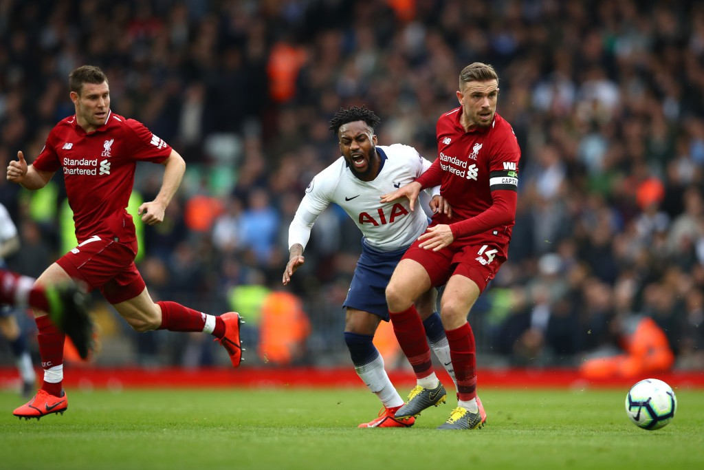 Veteran midfielders James Milner and Jordan Henderson were out of sorts on Sunday. (Photo by Clive Brunskill/Getty Images)