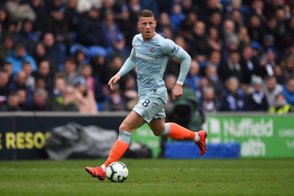 A golden chance for Barkley to secure good grades in Sarri's books. (Picture Courtesy - AFP/Getty Images)