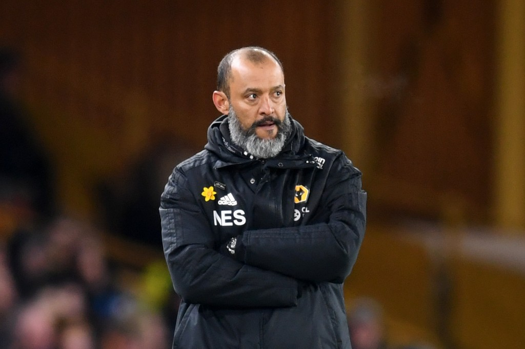 Wolves manager Nuno Santo is linked with Chelsea to be their manager for next season. (Photo courtesy: AFP/Getty