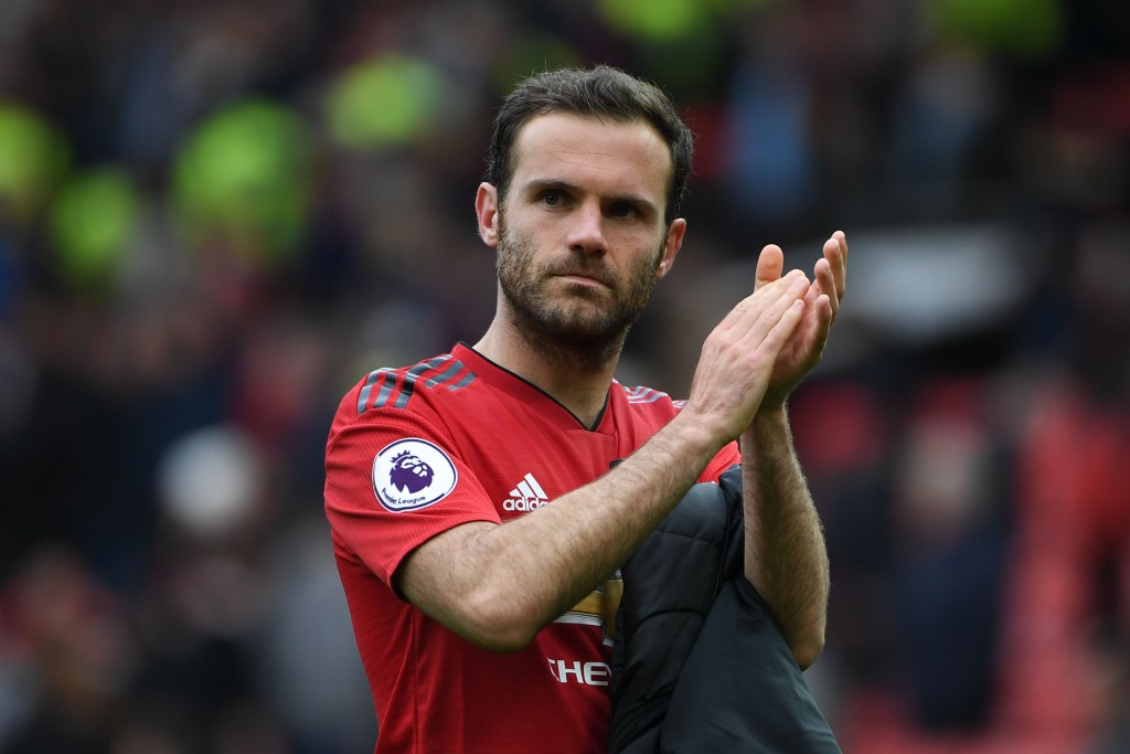 Mata comes up with the goods against former club (Photo by PAUL ELLIS/AFP/Getty Images)