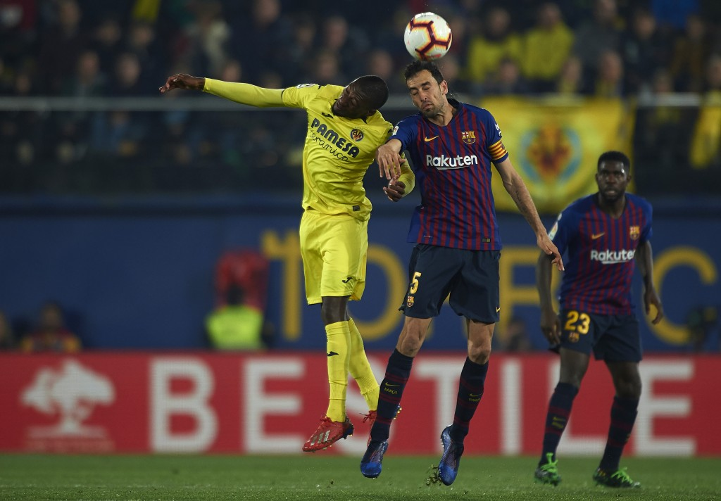 Busquets struggled (Photo by Manuel Queimadelos Alonso/Getty Images)