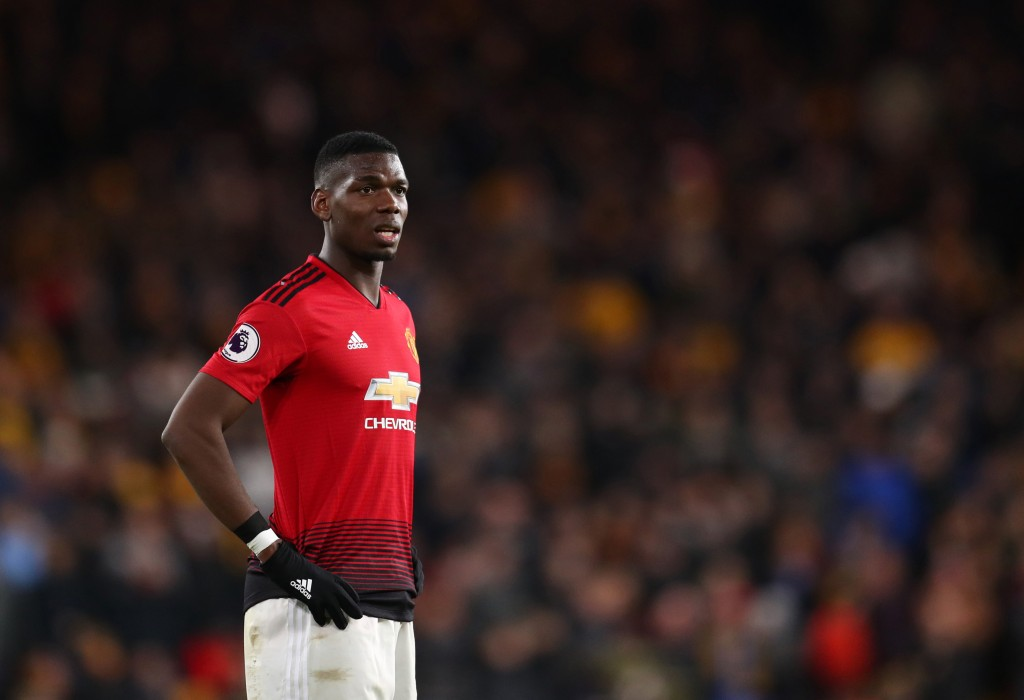 Pogba's Manchester United future hangs in the balance. (Photo by Catherine Ivill/Getty Images)