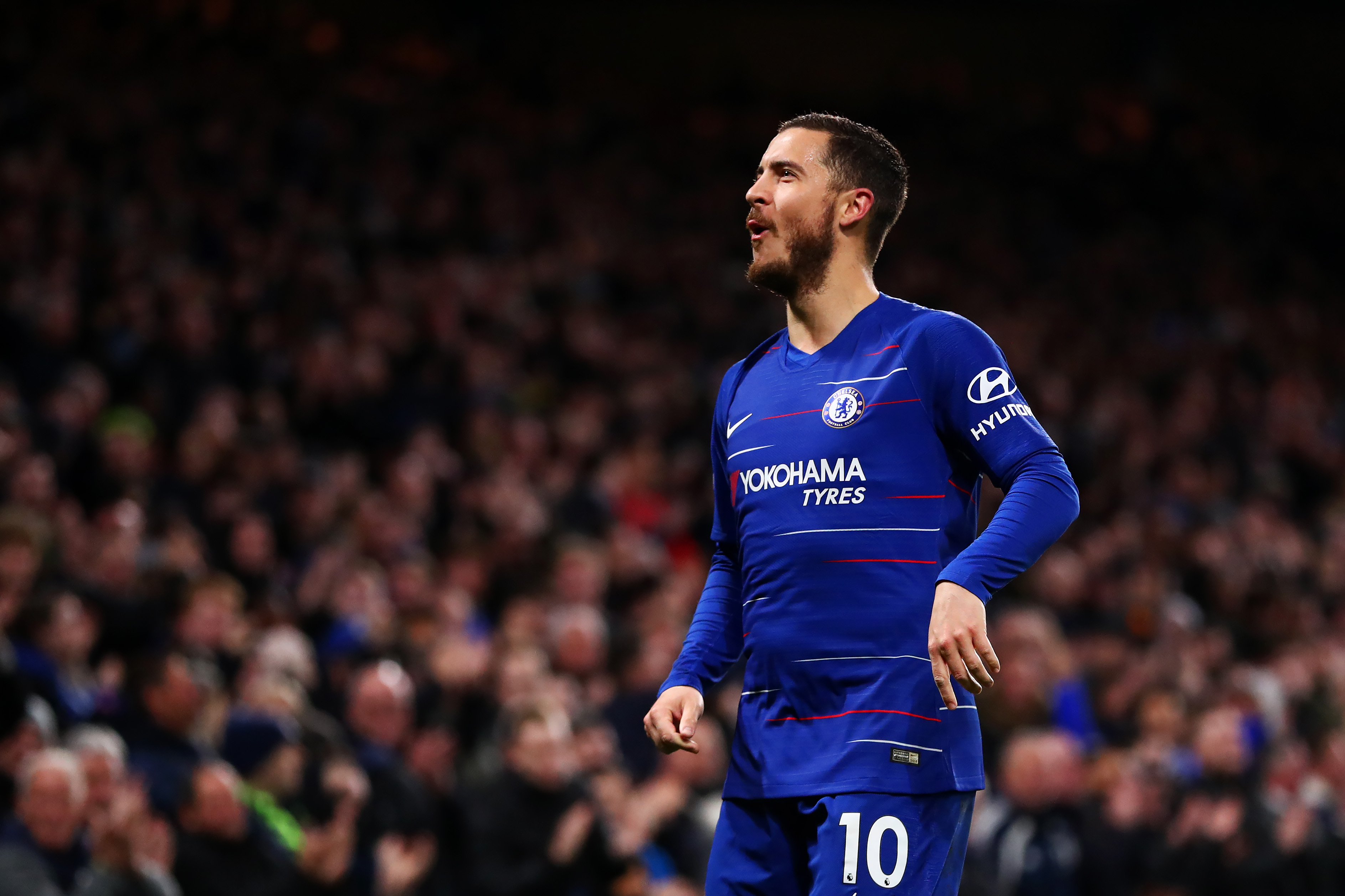 Hazard was Chelsea's main threat this season. (Photo by Dan Istitene/Getty Images)
