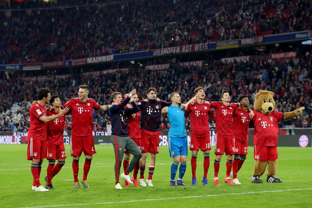 Bayern are on a roll. (Photo by Alexander Hassenstein/Bongarts/Getty Images)