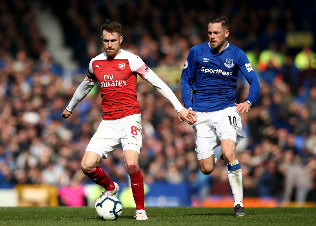 Ramsey was the only player who showed some sort of purpose. (Photo by Jan Kruger/Getty Images)