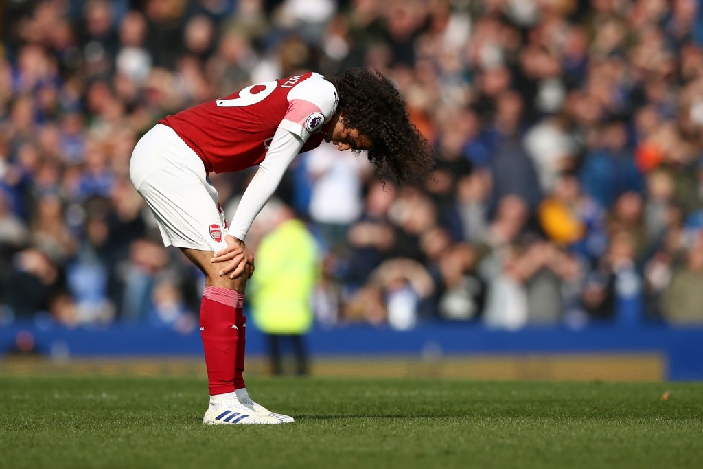 Not the best of games for Guendouzi. (Photo by Jan Kruger/Getty Images)