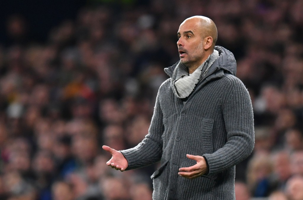 Pep Guardiola has a near-full strength squad at his disposal. (Photo by Dan Mullan/Getty Images)