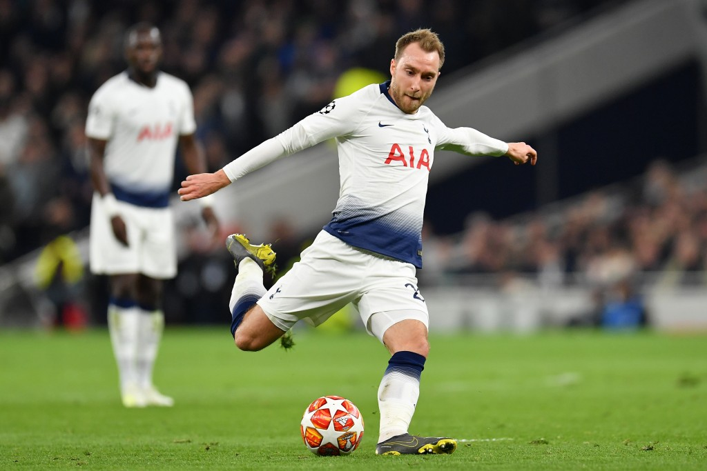 Which badge will Eriksen represent in the summer? (Picture Courtesy - AFP/Getty Images)