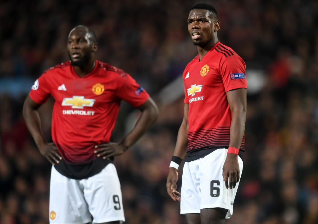 Both Lukaku and Pogba were ineffective (Photo by Michael Regan/Getty Images)